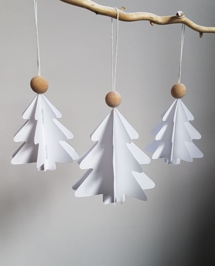 Folded Christmas Trees