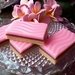 Trio of Bakery Slice Soaps ~ Raspberry Slice, Choc. Mint Slice and Citrus Slice