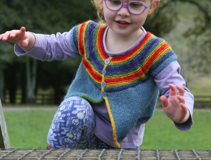 Kindy Cardi - PDF Knitting Pattern
