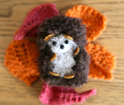 PDF PATTERN for Hibernating Hedgehog