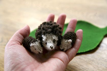 Hedgehogs in a Box PDF Knitting Pattern