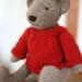Bear's Winter Wardrobe - PDF Knitting Pattern