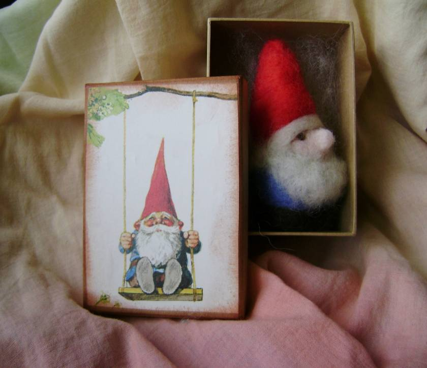 New Zealand Wool Gnome In A Box