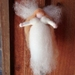 NZ wool angel  - Perfect for a birthday - lovely gift  - Waldorf inspired - new mother