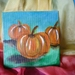 Autumn pumpkins  - Acrylic painting  - Autumn decor - Nature table