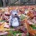 Wool hedgehog - display item - NZ made - Needle felted