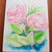 Roses - Acyrlic painting - Original
