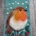 Bird - wool bird - Needle felted in NZ wool