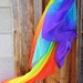 Rainbow  silk  cloth -  inspire free childs play - 100% silk