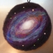 Wool painting -  - hand made - Constellation - solar -planets - New Zealand wool