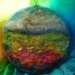 Wool painting -  - hand made -  New Zealand wool