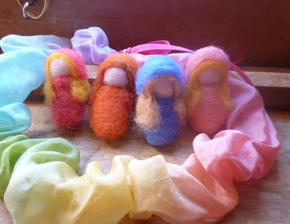 Wool seasonal  Children  -   Summer, Autumn, Winter ,Spring  - Waldorf inspired