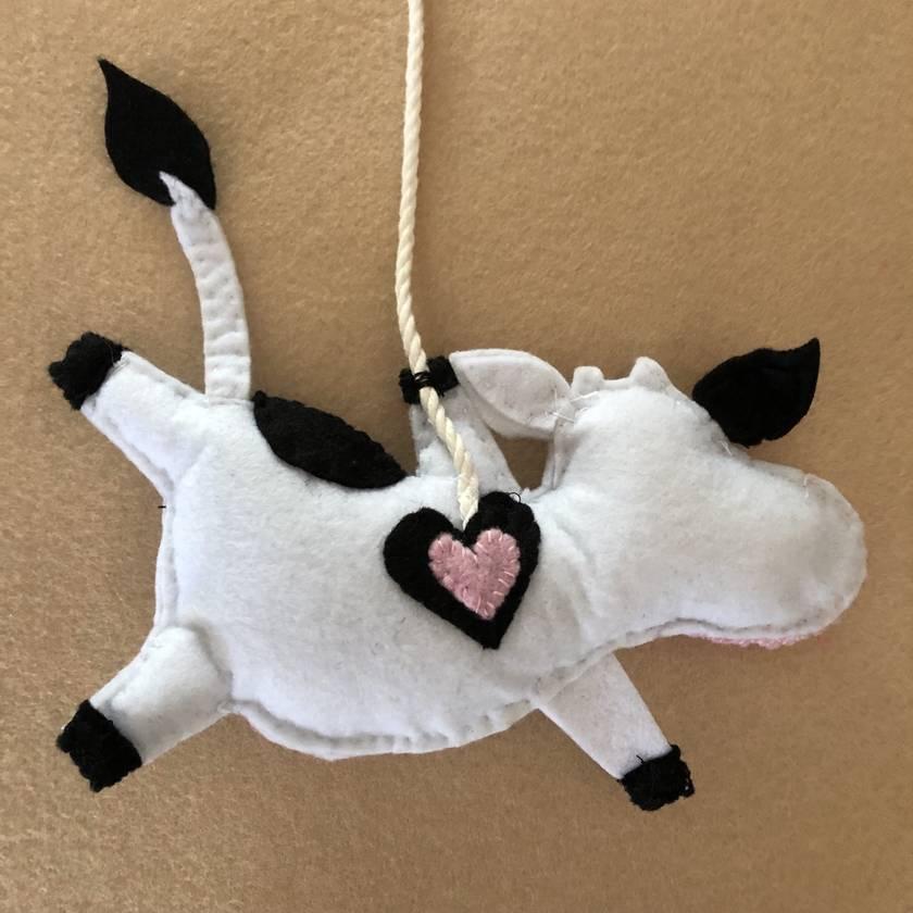 Flying Farm Animals - Cheery Cow