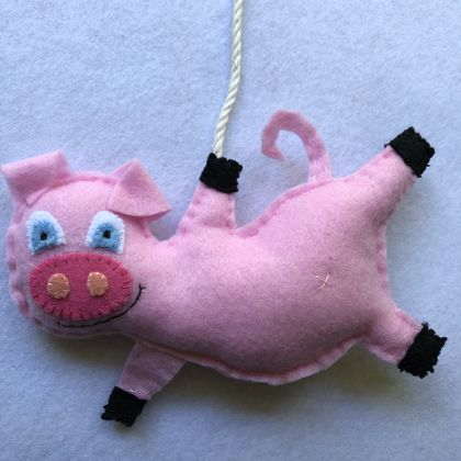 Flying Farm Animals - Perfect Pig