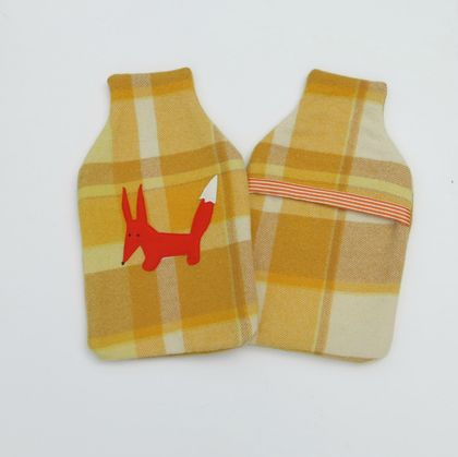 "Hotwater Bottle Cover ""Fabulous Mr Fox"""