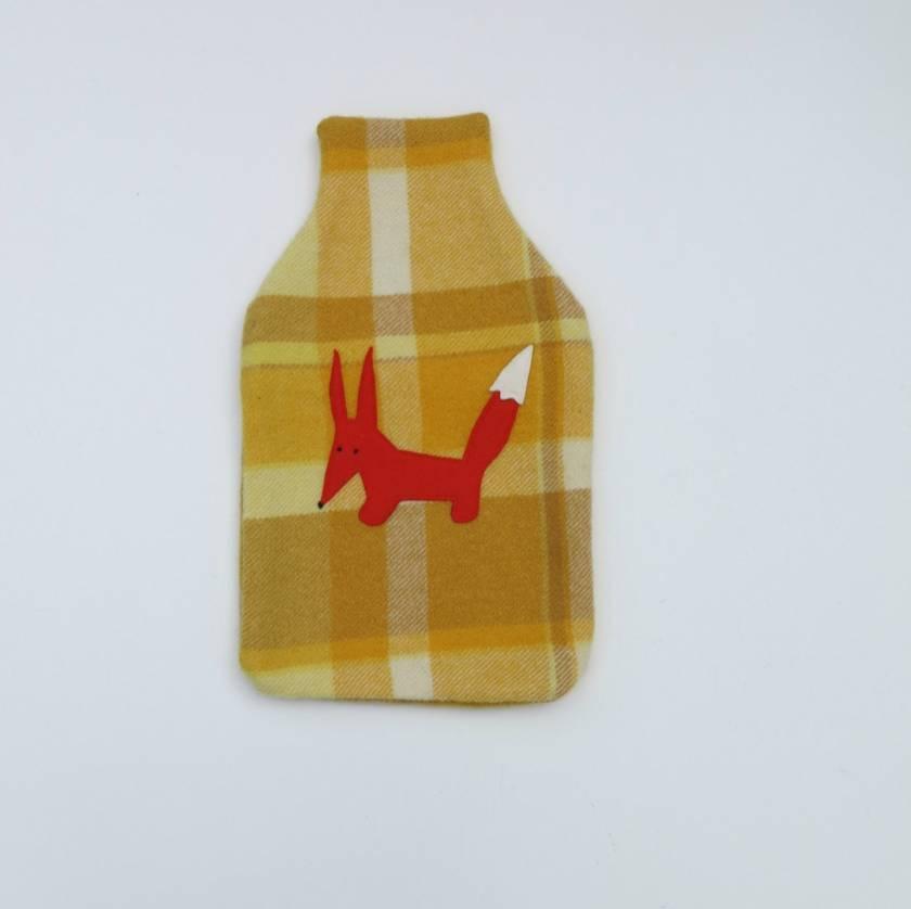 "Hotwater Bottle Cover ""Fabulous Mr Fox"""