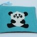 "Ipad Case or Large Essentials case "" Panda"""