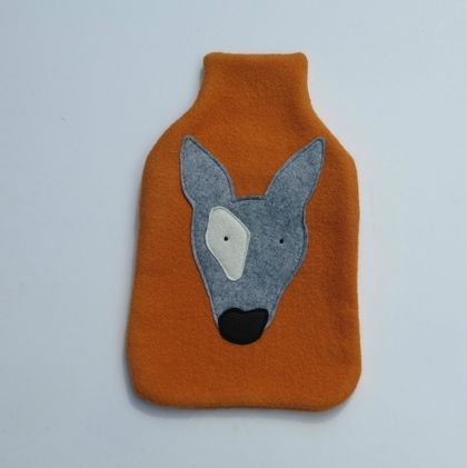 "Hot Water Bottle Cover "" Mr Dogs Head"""