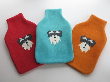 "Hot Water Bottle Cover "" Bruno"""