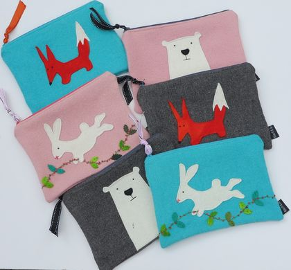Mini Ipad Case, Kindle Case, Large Purse or Pencil Case  (You choose which design you would like)