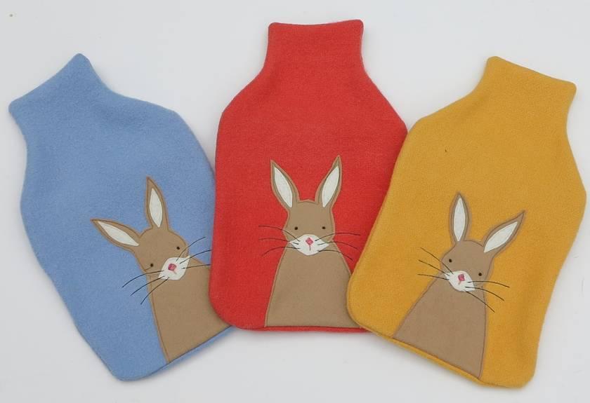 "Hotwater Bottle Cover ""Mr Rabbit"""