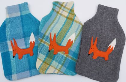 "Hotwater Bottle Cover ""FOXY"""