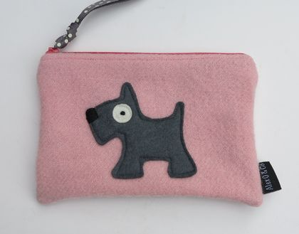 "Purse or Pencil Case ""Scottie Dog"""
