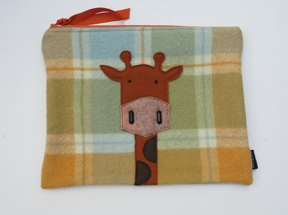 "Ipad Case or Large Essentials case "" Mr Giraffe or Melman"""