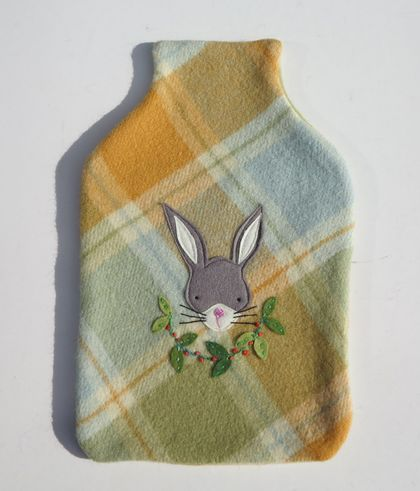 "Hotwater Bottle Cover ""Little Rabbit"""