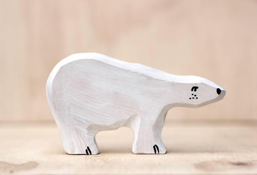Wooden toys, arctic set