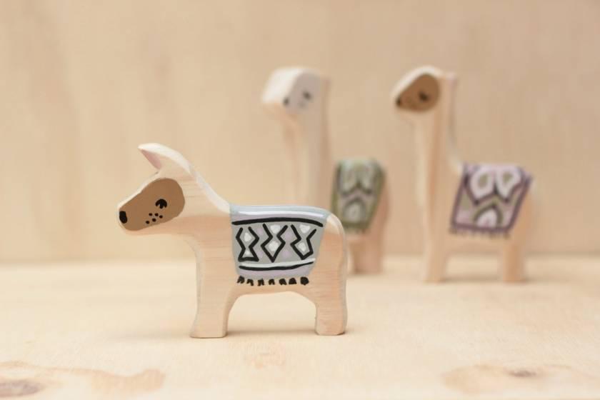 Wooden Donkey toy