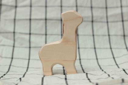 Paint your own wooden llama