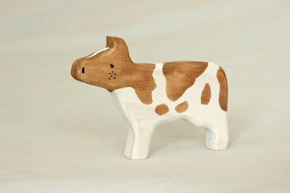 Wooden cow toy