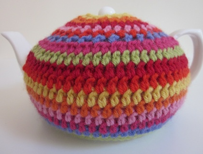 Gorgeous Crochet Tea Cosy (and Teapot!)