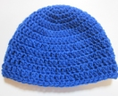 Toasty Warm Pure Wool Blue Hat