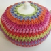 Rainbow Striped Tea Cosy (and free teapot!)