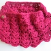 Gorgeous Raspberry Cowl - wear it however you want!
