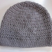 Pure Wool Slouch Beanie - Taupe