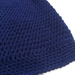 Gorgeously Soft Royal Blue Slouch Beanie