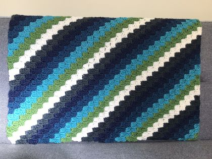 Beautiful Pure Wool Baby Blanket