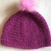 Fabulous Pink pom pom beanie
