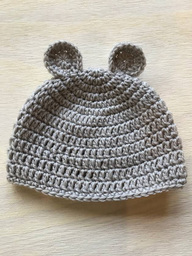 Gorgeous Pure Wool Little Bear Baby Hat