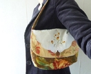 Vintage and Upcycled Fabric Handbag