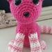 Hand Crocheted Sweet Kitty