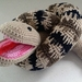 Hand Crocheted Jake the Snake