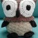 Hand Crocheted Ollie the Owl