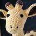 Hand Crocheted Jerry the Giraffe