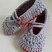 Hand Crocheted Goddess Slippers