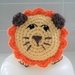 Hand Crocheted Leo The Lion