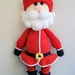 Hand Crocheted Santa